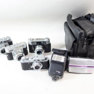 4 Konvolut: Fotoapparate, Dacora,