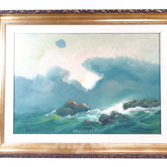 Gemälde ''Felsen in der See''