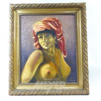 Gemälde ''Eingeborene''