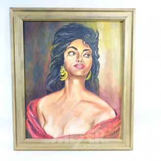 Gemälde ''Esmeralda''