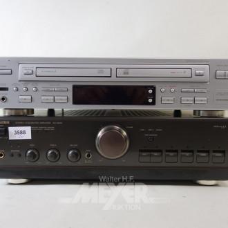 2 Teile Technik: Stereo Amplifier,TECHNICS