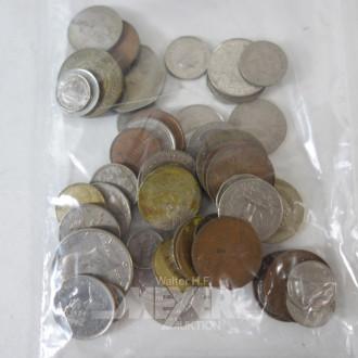 kl. Tüte Münzen