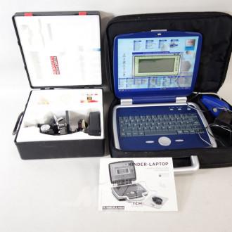 Kinder Laptop und 1 Mikroskop
