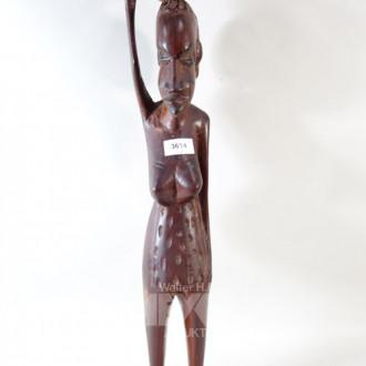 Holz Figur ''Afrikanerin''