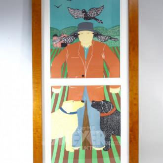 Druck ''The Scare Crow/Vogelscheuche''