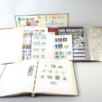 5 Briefmarkenalben, Europa