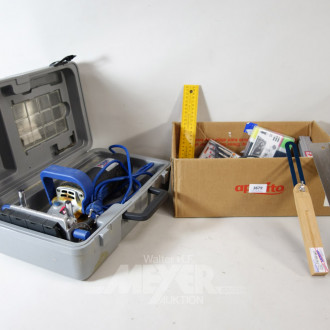 4 Handmaschinen und Material: