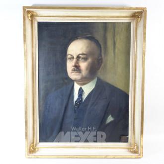 Gemälde ''Herren Portrait''