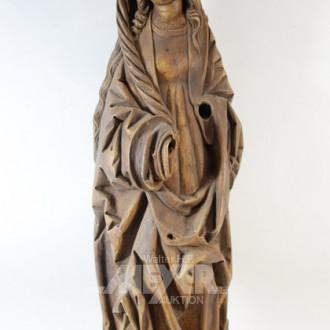 Figur, ''Madonna'', Kunststoff