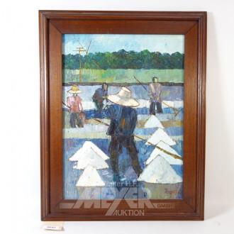 Gemälde ''Bauern bei der Arbeit''