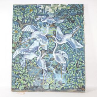 Bild ''Vögel bei der Balz''