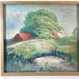 Gemälde ''Kate am See''