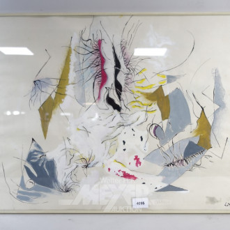 Aquarell ''Abstrakte Darstellung''