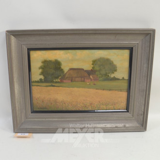 Gemälde ''Bauernhof''