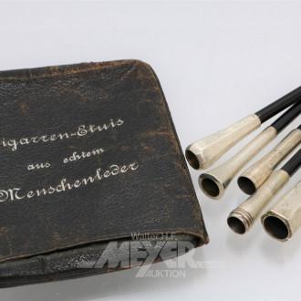 5 verschiedene Zigarettenspitzen,