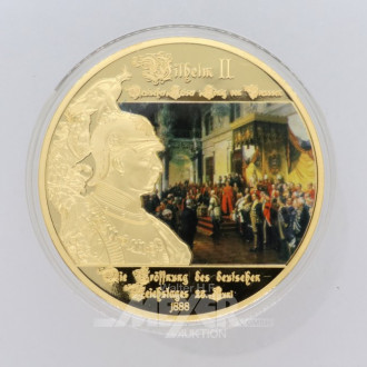 2 Gigantenprägungen Wilhelm II,