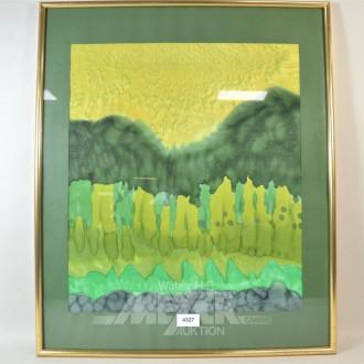 Stoffbild ''Wald''
