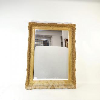 Wandspiegel, 68 x 48 cm, Holzrahmen