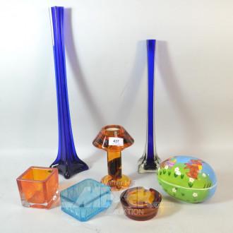 Konvolut: Vasen, Schale,