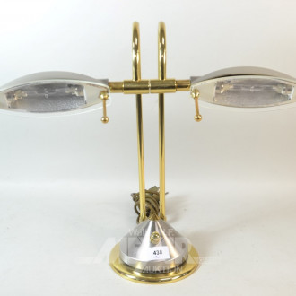 Tischlampe 2 flammig