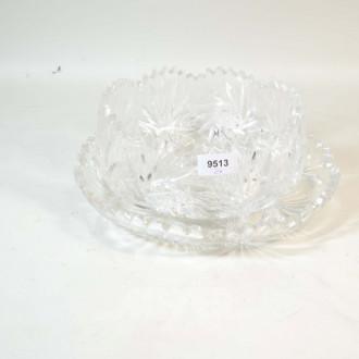 Kristall-Kuchenplatte