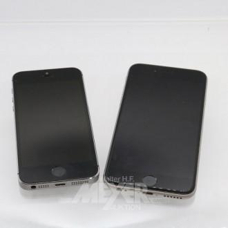 2 Smartphones APPLE IPhone 6s u. 5s