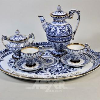 Porzellan Kaffeeservice V&B, für 2