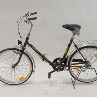 Klapp-Fahrrad ''Jaguar'', 24'', braun,