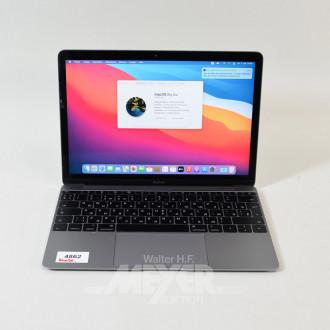 Notebook APPLE, MacBook Air, space grau,