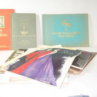 Konvolut Sammelbilder-Alben und