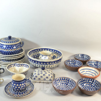 Posten Keramik Geschirrteile