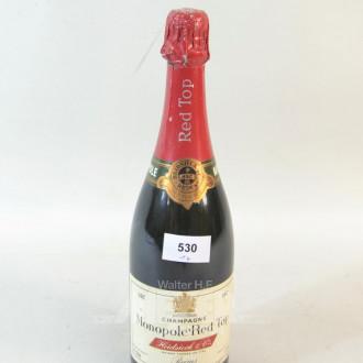 Flasche Champagner ''HEIDSICK''
