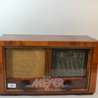 Röhrenradio NORDMENDE