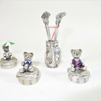 4 kl. Miniaturen, Metall: