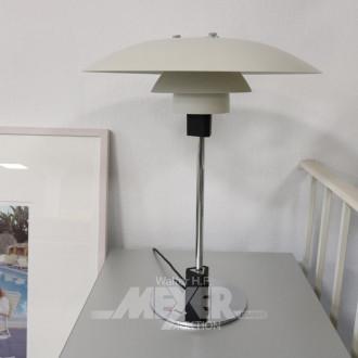 Schreibtischlampe mit Aluminiumschirm,