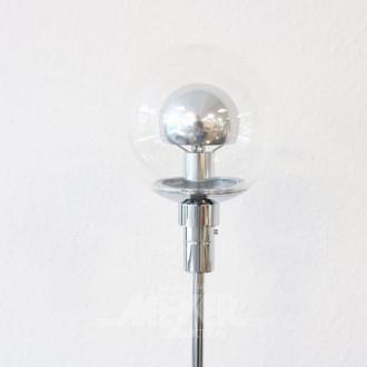 Stehlampe, Chrom,