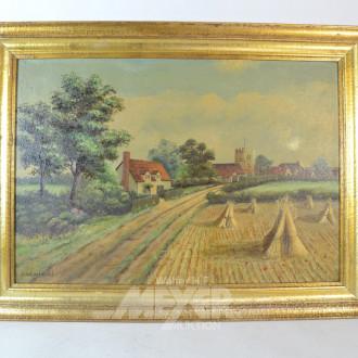 Gemälde ''Dorfstrasse''