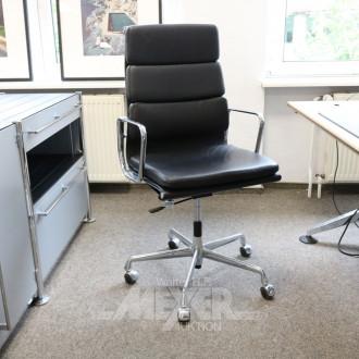 Bürodrehstuhl, Hochlehner,