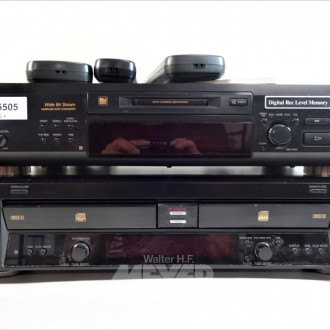 CD-Recorder SONY, RCD-W100,