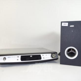 DVD-Player AEG, Typ: DVD 4611HC,