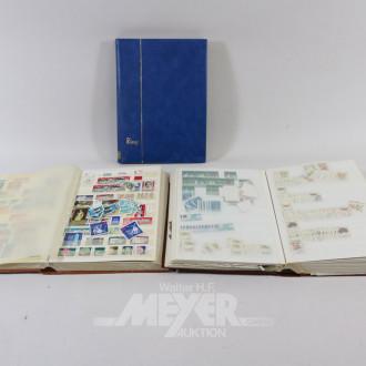 gr. Posten Briefmarken-Alben: DDR,