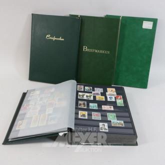 gr. Posten Briefmarken-Alben,