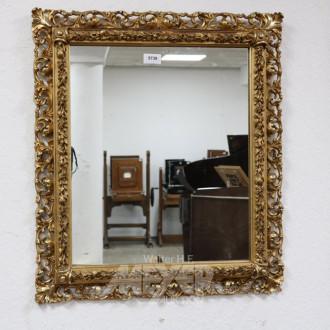 Wandspiegel, Rahmen goldfarben,