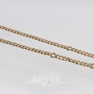 Collierkette, 333er GG, ca. 13 g.