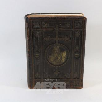 ''Pracht-Bibel'' datiert 1865,
