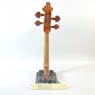 Cellohals-Modell mit Sockel,