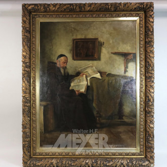 gr. Gemälde, ''lesender Mönch''