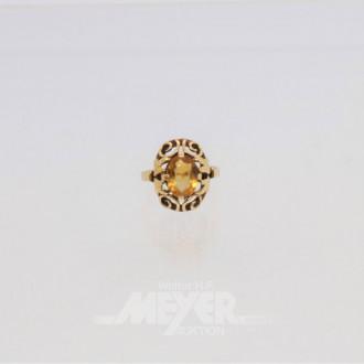 Ring, 585er Gelbgold,