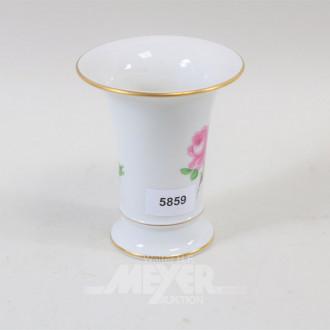 kl. Porzellan-Vase, MEISSEN,