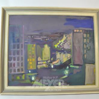 Gemälde ''Stadtansicht''
